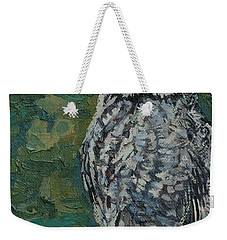 Great Gray Weekender Tote Bag