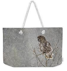 Great Grey Hunter Weekender Tote Bag