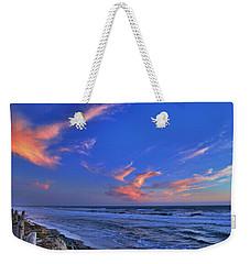 Great Highway Sunset Weekender Tote Bag