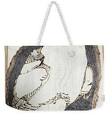 Great Horned Owl Weekender Tote Bag by Terry Frederick