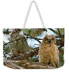 Great Horned Owls Weekender Tote Bag