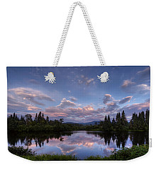 Great North Woods Sunset In New Hampshire Weekender Tote Bag
