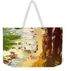 Weekender Tote Bag featuring the painting Great Ocean Road by Pamela  Meredith