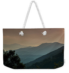 Great Smoky Mountains Blue Ridge Parkway Weekender Tote Bag by Patti Deters