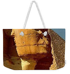 Great Sphinx Of Giza Weekender Tote Bag by Travel Pics