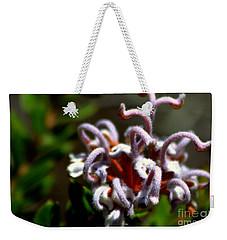 Weekender Tote Bag featuring the photograph Great Spider Flower by Miroslava Jurcik