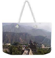 Great Wall Of China At Badaling Weekender Tote Bag