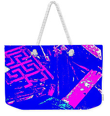 Greco-celtic Relic Weekender Tote Bag