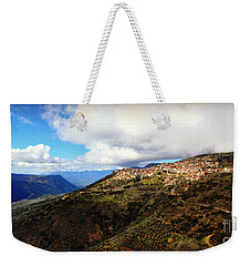 Greece Countryside Weekender Tote Bag