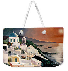 Greek Isles Weekender Tote Bag