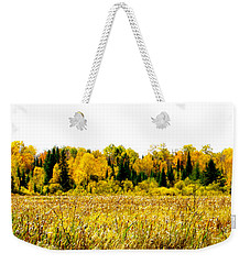Green Amongst The Gold2 Weekender Tote Bag