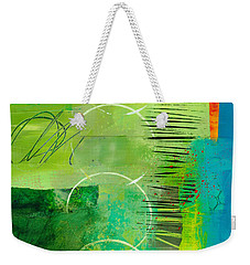 Green And Red 5 Weekender Tote Bag