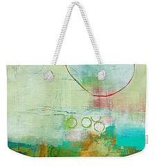 Green And Red 6 Weekender Tote Bag
