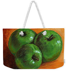 Green Apples Weekender Tote Bag