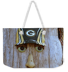 Green Bay Packer Humor Weekender Tote Bag