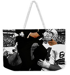 Vince Lombardi Green Bay Packers Weekender Tote Bag