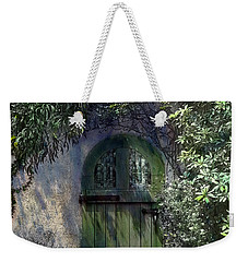Green Door Weekender Tote Bag