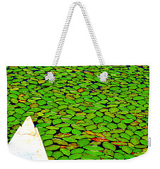 Weekender Tote Bag featuring the photograph Green Dream by Zafer Gurel