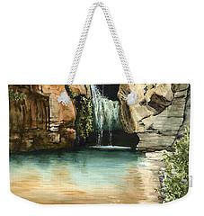 Green Falls II Weekender Tote Bag