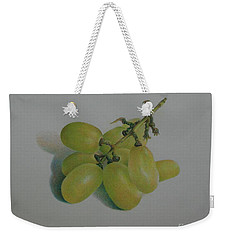 Green Grapes Weekender Tote Bag by Pamela Clements