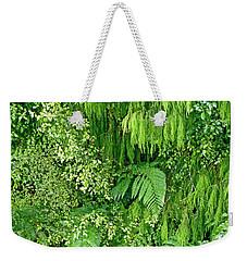 Green Green Weekender Tote Bag