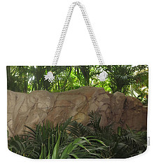 Weekender Tote Bag featuring the photograph Green Interiors Vegas Casinos Resorts Hotels by Navin Joshi