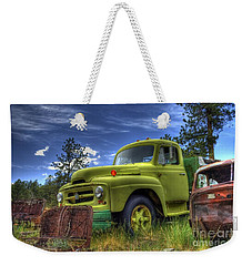 Green International Weekender Tote Bag