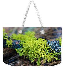 Green Lichen Weekender Tote Bag
