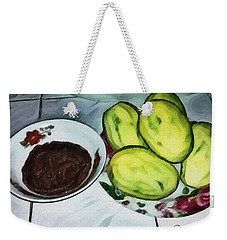 Green Mangoes Weekender Tote Bag