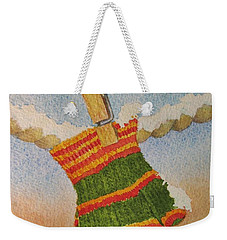 Green Mittens Weekender Tote Bag by Mary Ellen Mueller Legault