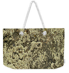 Weekender Tote Bag featuring the photograph Green Moss by Les Palenik