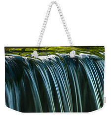 Weekender Tote Bag featuring the photograph Green by Muhie Kanawati