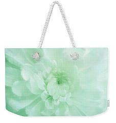 Green Mum Luminous Painted Blossom Weekender Tote Bag