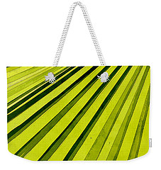 Green Palm Frond Weekender Tote Bag