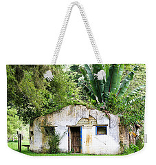 Green Roof Weekender Tote Bag