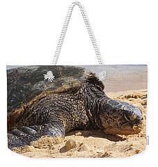 Green Sea Turtle 2 - Kauai Weekender Tote Bag