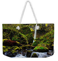 Green Seasons Weekender Tote Bag by Chad Dutson