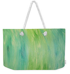 Green Shades Weekender Tote Bag