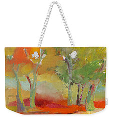 Green Trees Weekender Tote Bag