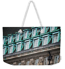 Green Windows Weekender Tote Bag