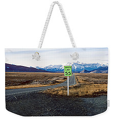 Weekender Tote Bag featuring the photograph Green Zone by Kellice Swaggerty