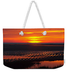 Weekender Tote Bag featuring the photograph Greetings by Dianne Cowen