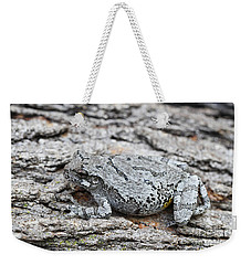 Weekender Tote Bag featuring the photograph Cope's Gray Tree Frog by Judy Whitton