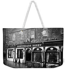 Greyfriars Bobby In Edinburgh Scotland  Weekender Tote Bag