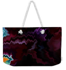 Weekender Tote Bag featuring the mixed media Grief by Patricia Griffin Brett