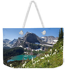 Grinnell Lake With Beargrass Weekender Tote Bag