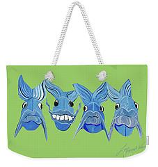 Grinning Fish Weekender Tote Bag