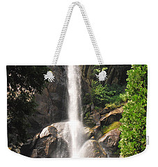 Weekender Tote Bag featuring the photograph Grizzly Falls by Mary Carol Story