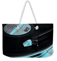 Weekender Tote Bag featuring the photograph Groovy Baby by Pennie  McCracken