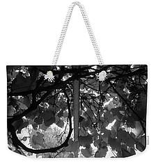 Weekender Tote Bag featuring the photograph Gropius Vine - Black And White by Joseph Skompski